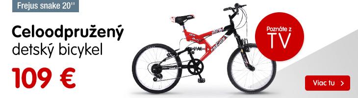 Detský bicykel – poznáte z TV