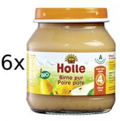 Holle Bio 100% hruška - 6 x 125g