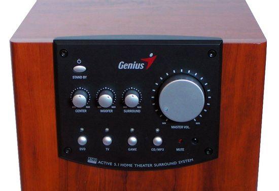 Genius SW-HF 5.1 5000 Dark Wood