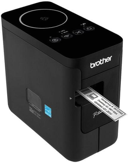 Brother tiskalnik nalepk PT P750WSP