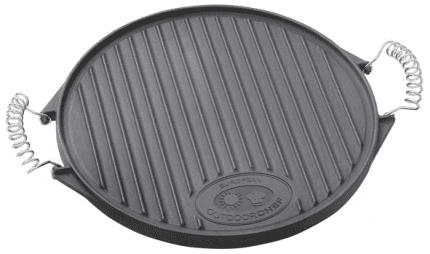 Outdoorchef Litinová grilovací deska M (39 cm)