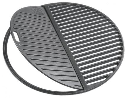 Outdoorchef Dvoudílná litinová grilovací mřížka L