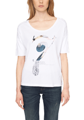 s.Oliver dámské tričko s originálním potiskem