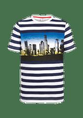 s.Oliver pruhovné chlapecké tričko