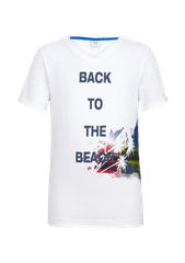 s.Oliver T-shirt chłopięcy BACK TO THE BEACH