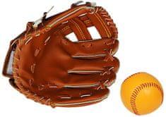 Eddy Toys Baseballová rukavice & míč