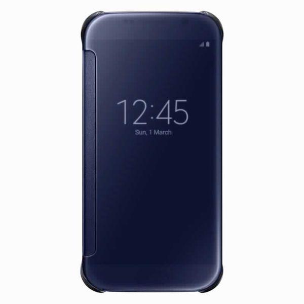 Samsung flipové pouzdro Clear View, Galaxy S6, černý