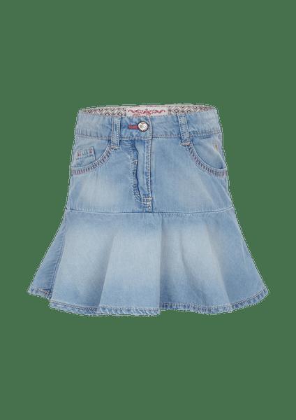 s.Oliver nabíraná dívčí sukně 104 modrá