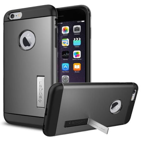 Spigen maska Slim Armor za iPhone 6 Plus, siv