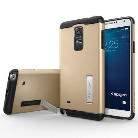 Spigen ovitek Slim Armor za Samsung Galaxy Note 4, zlat