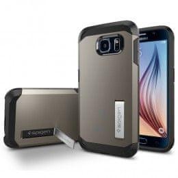 Spigen ovitek Slim Armor za Samsung Galaxy S6, rjavo-siv