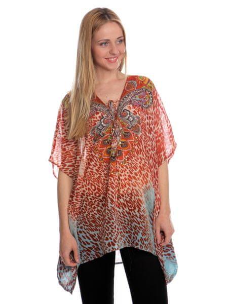 Brave Soul dámská tunika Steph M oranžová