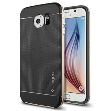 Spigen ovitek Neo Hybrid za Samsung Galaxy S6 Edge, zlat