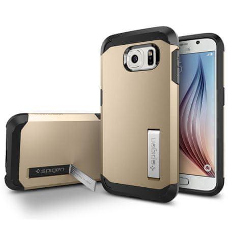 Spigen ovitek Tough Armor za Samsung Galaxy S6, zlat