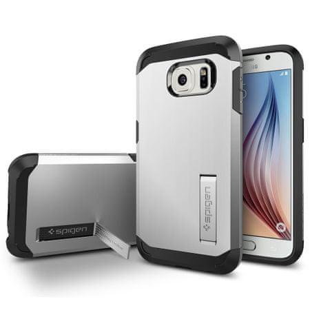 Spigen ovitek Tough Armor za Samsung Galaxy S6, srebrn