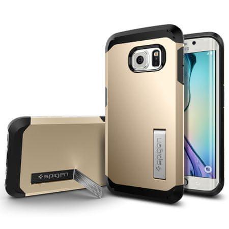 Spigen ovitek Tough Armor za Samsung Galaxy S6 Edge, zlat