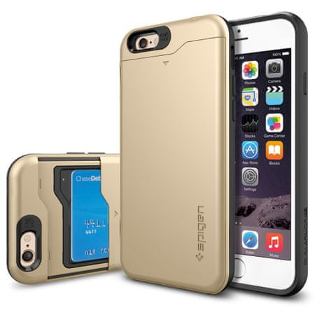 Spigen ovitek Slim Armor CS za iPhone 6, zlat