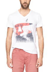 s.Oliver krásné pánské bavlněné tričko