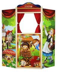Marionette Loutkové divadlo, dřevěné