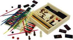 Marionette Zestaw 5 gier w drewnianym pudełku
