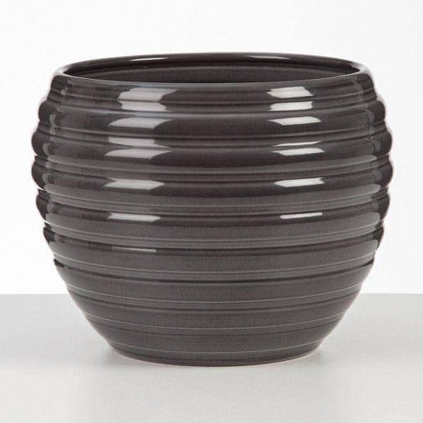 Scheurich Květináč 730 keramický, 23cm, Glass grey