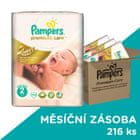 Pampers Premium Care Plienky 2 (Mini) 3-6 Kg - 216 ks