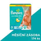 Pampers Active Baby 3 Midi (4-9kg) Megabox Plus - 174 ks