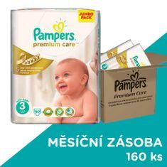 Pampers Premium Care Plienky Veľkosť 3 (Midi) 4-9 Kg - 160 ks