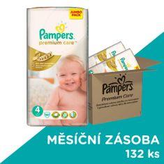 Pampers Premium Care Plienky Veľkosť 4 (Maxi) 7-14 Kg - 132 ks