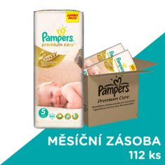 Pampers Premium Care Plienky Veľkosť 5 (Junior) 11-25 Kg - 112 ks