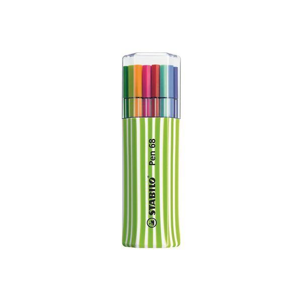 Popisovač Stabilo Pen 68 0,1 15 barev