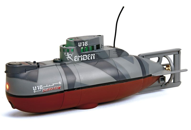 Pelikan Graupner/SJ RC Ponorka - U-16 EMDEN, Mini U-Boot