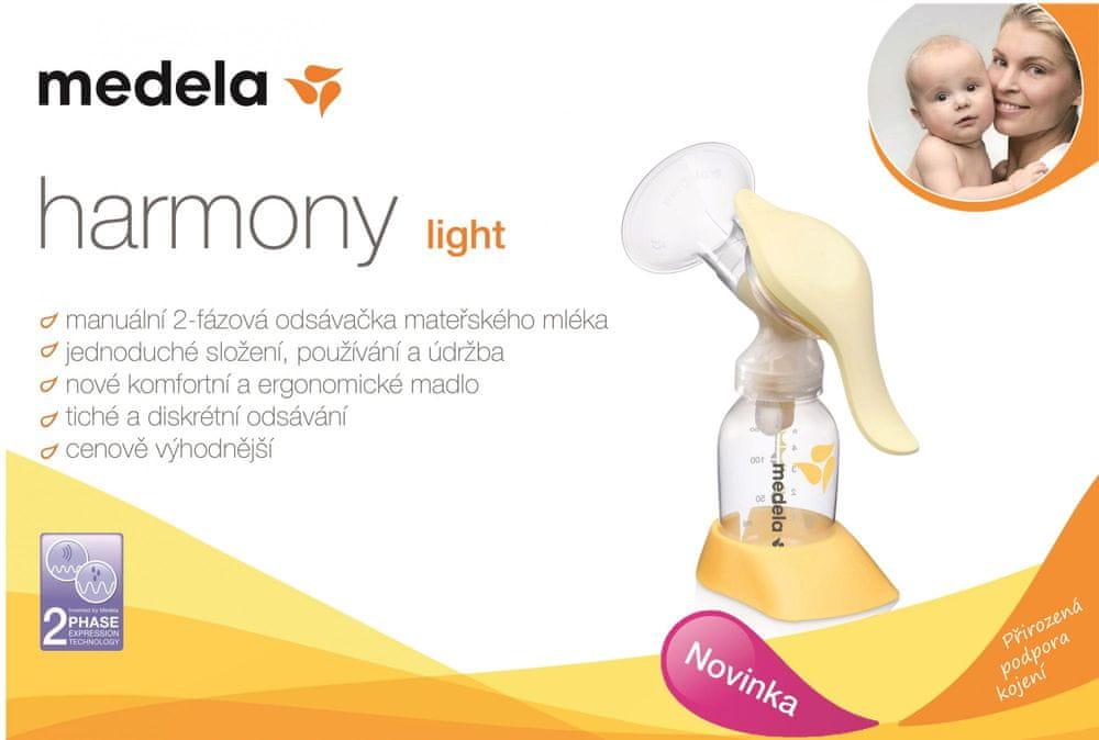 Medela Harmony Light 2-fázová manuální odsávačka
