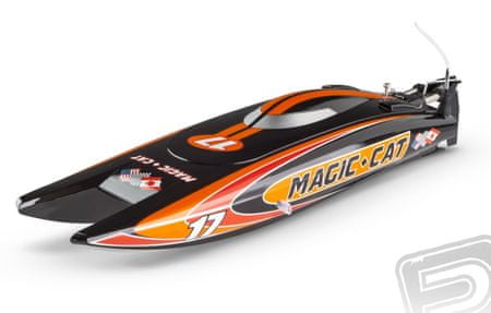 Pelikan Joysway RC člun - Magic Cat RTR