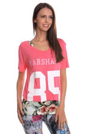 Franklin&Marshall TSWVA682 M růžová