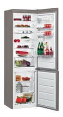 Whirlpool BSNF 8152 OX Alulfagyasztós hűtőszekrény, A++