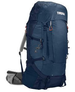 Thule nahrbtnik Guidepost, 65 l, moder