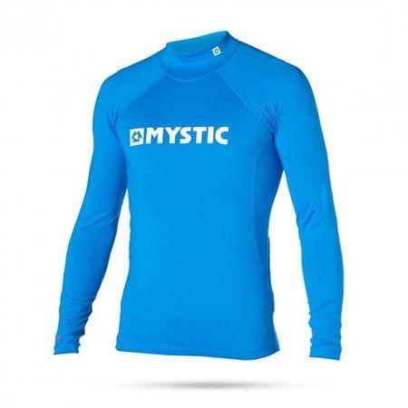 Mystic otroška majica Lycra Star Rashvest L/S Junior 400, modra, XL
