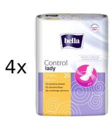 Bella Wkładki Control Lady mini 4 x 20 szt