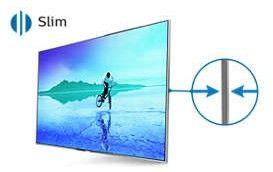 9024b0bc1 Televízor Philips s tenkým profilom vyjadruje váš životný štýl úhľadnými a  sofistikovanými rozmery. Prečo by vlastne nemal byť televízor práve tak  krásny, ...