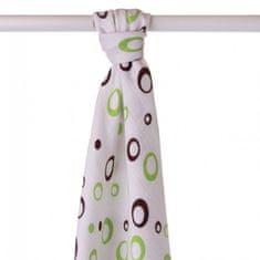 XKKO Ręcznik bambusowy 90x100 cm, Lime Bubble