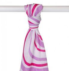 XKKO Ręcznik bambusowy 90x100 cm, Lilac Wave