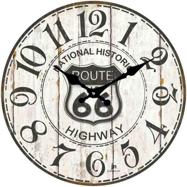 Lowell Designové nástěnné hodiny 14848