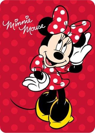 Greno otroška odeja Minnie Mouse, 100 × 140 cm