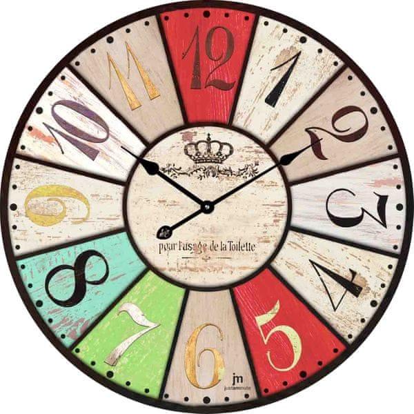 Lowell Designové nástěnné hodiny 14850