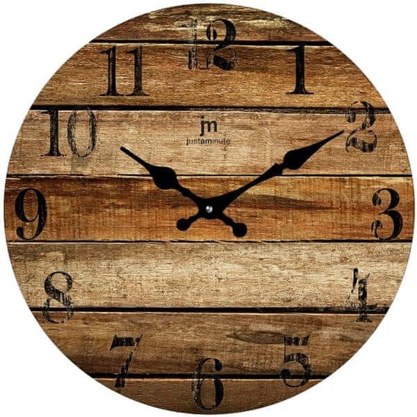 Lowell Designové nástěnné hodiny 14847