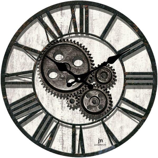 Lowell Designové nástěnné hodiny 14851