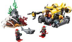 LEGO® City 60092 Duboko more – podmornica