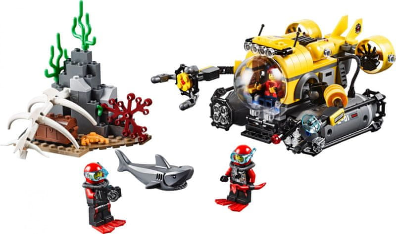 LEGO® City 60092 Hlubinná ponorka
