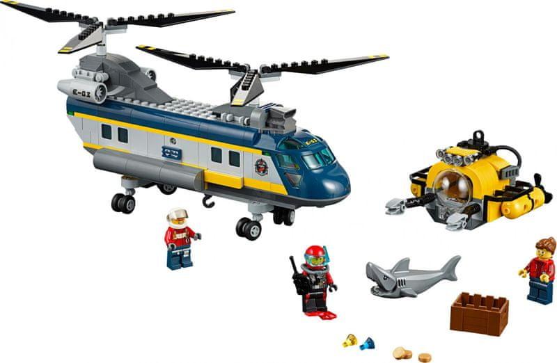 LEGO® City 60093 Vrtulník pro hlubinný mořský výzkum